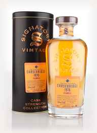 Carsebridge 38 Year Old 1976 (cask 130950) - Cask Strength Collection (Signatory) 3cl Sample
