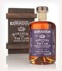 Edradour 11 Year Old 1998 Bordeaux Cask Finish - Straight from the Cask 56.4%