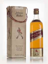 Johnnie Walker Red Label - 1970s (boxed)