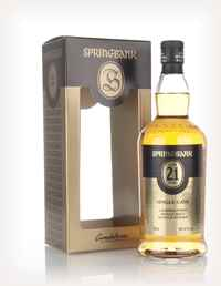 Springbank 21 Year Old Single Cask