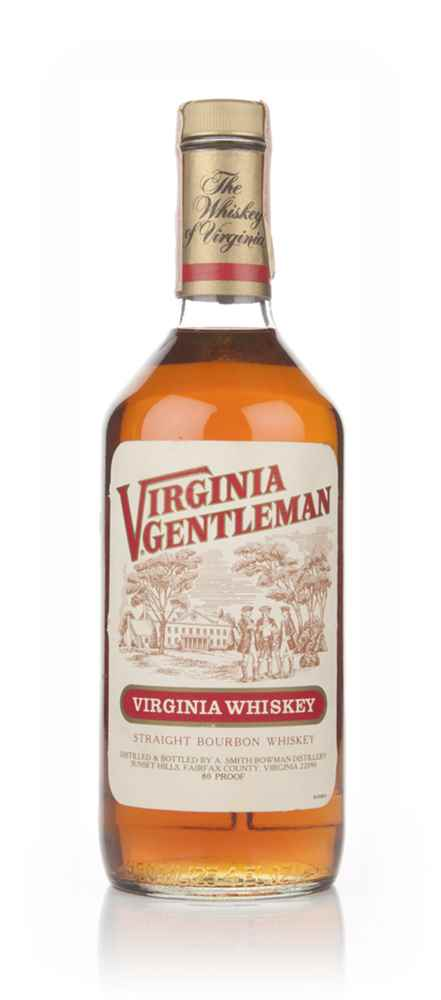 Virginia Gentleman Bourbon - 1983