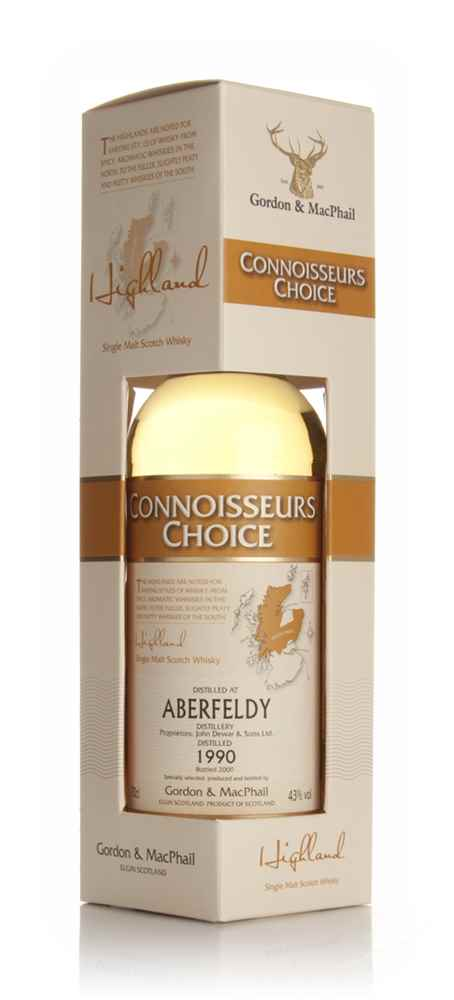 Aberfeldy 1990 - Connoisseurs Choice (Gordon and MacPhail)