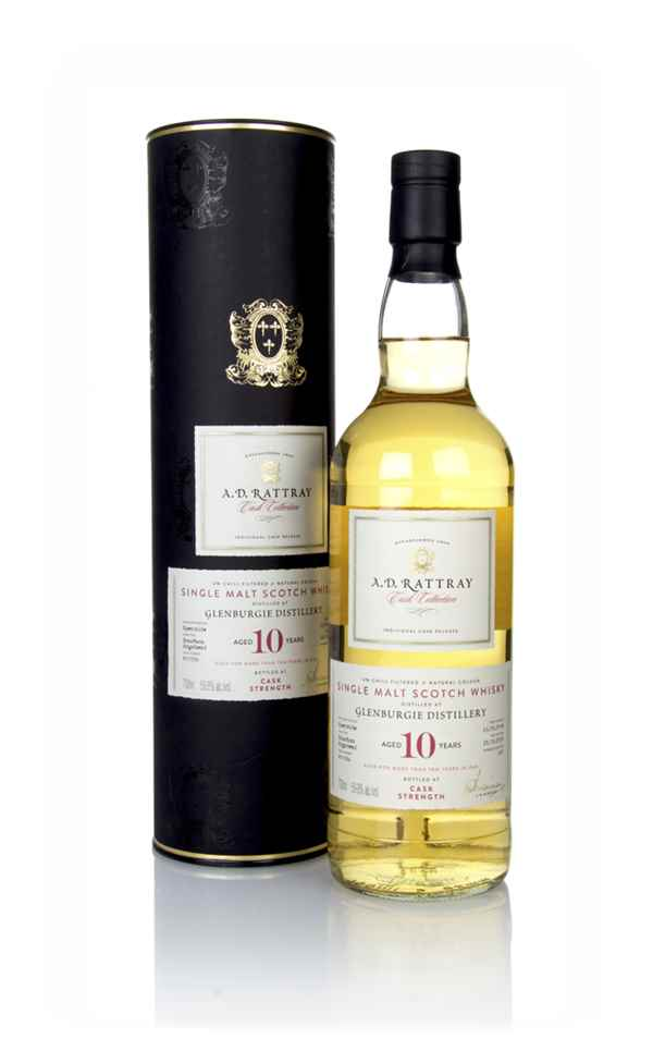 Glenburgie 10 Year Old 2008 (cask 800356) - Cask Collection (A.D Rattray)