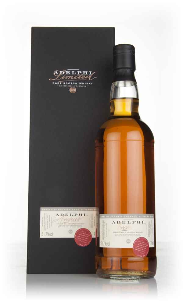 Breath of the Highlands 35 Year Old 1972 (cask 1753) (Adelphi)