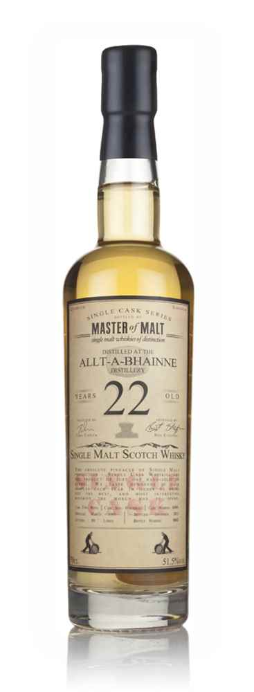 Allt-á-Bhainne 22 Year Old 1993 - Single Cask (Master of Malt)