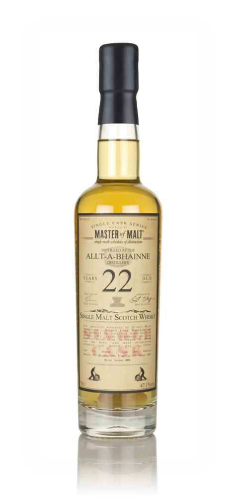 Allt-á-Bhainne 22 Year Old 1995 - Single Cask (Master of Malt)