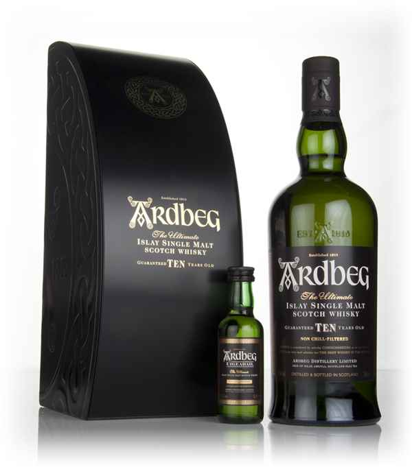 Ardbeg 10 Year Old & Uigeadail Mini Gift Pack