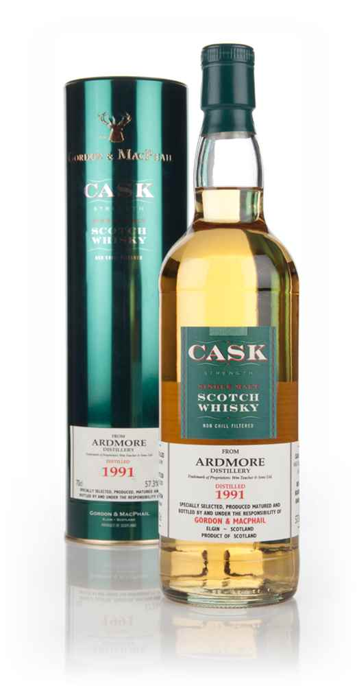 Ardmore 15 Year Old 1991 Cask Strength (Gordon & MacPhail)