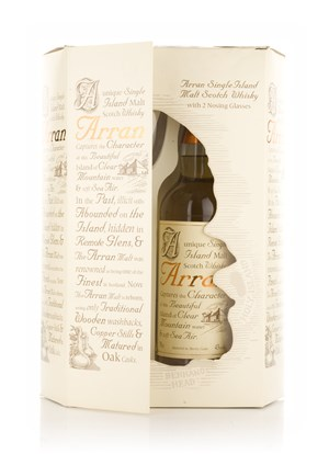 Arran 10 Year Old + Nosing Glasses