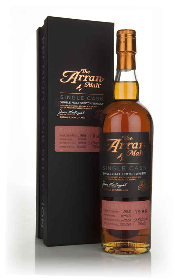 Arran 15 Year Old 1996 - Cask 1968