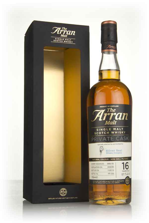 Arran 16 Year Old 2000 (cask 2000/126) - Private Cask