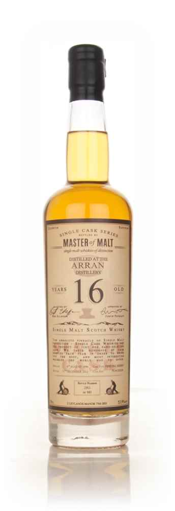 Arran 16 Year Old 1996 - Single Cask (Master of Malt)