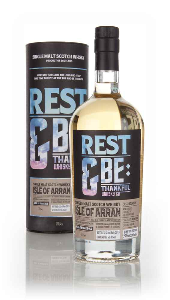 Arran 18 Year Old 1996 (cask 96528) (Rest & Be Thankful)