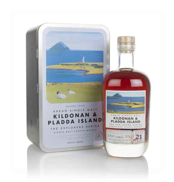 Arran 21 Year Old - Explorers Series Volume 3 - Kildonan & Pladda Island