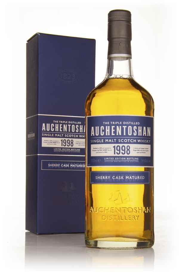 Auchentoshan 12 Year Old 1998 Fino Sherry Cask
