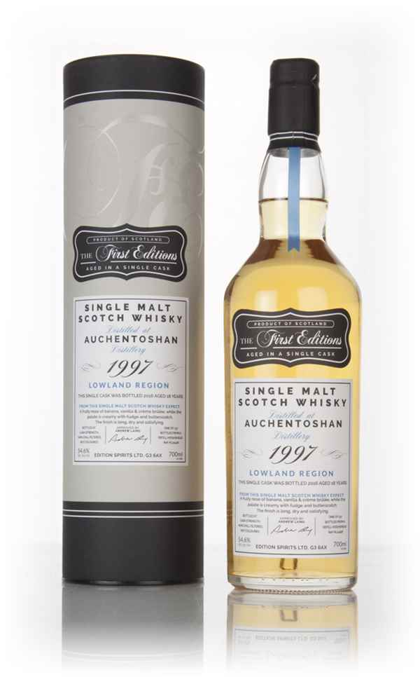 Auchentoshan 18 Year Old 1997 (cask 12428) - The First Editions (Hunter Laing)