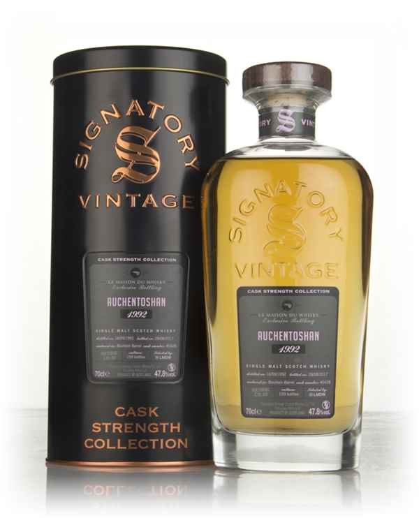 Auchentoshan 24 Year Old 1992 (cask 5428) - Cask Strength Collection (Signatory)