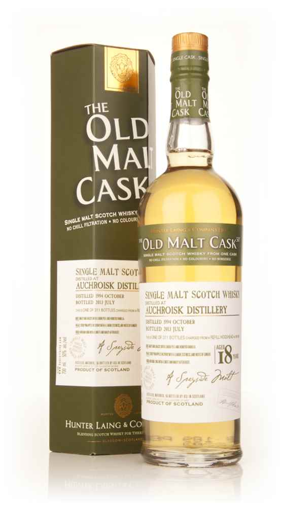 Auchroisk 18 Year Old 1994 (cask 9877) - Old Malt Cask (Hunter Laing)
