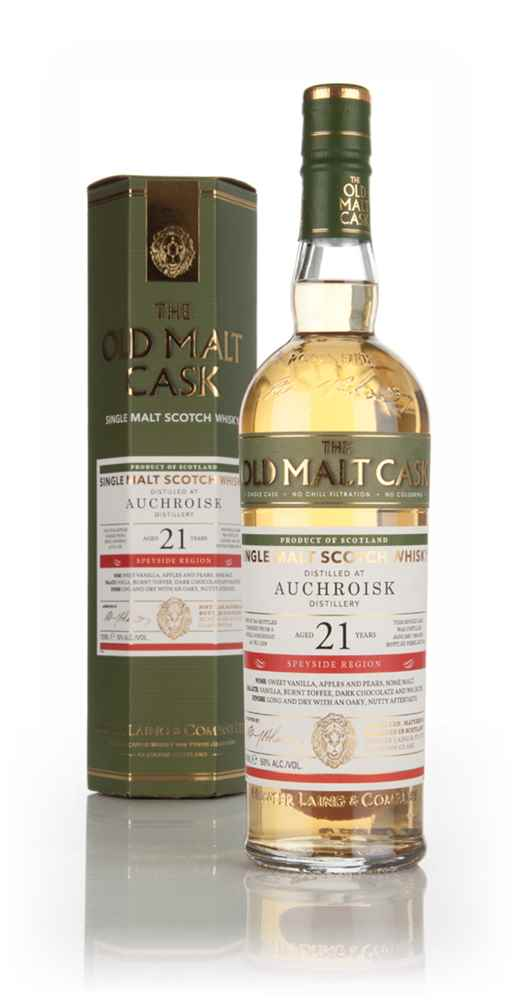 Auchroisk 21 Year Old 1994 (cask 11238) - Old Malt Cask (Hunter Laing)