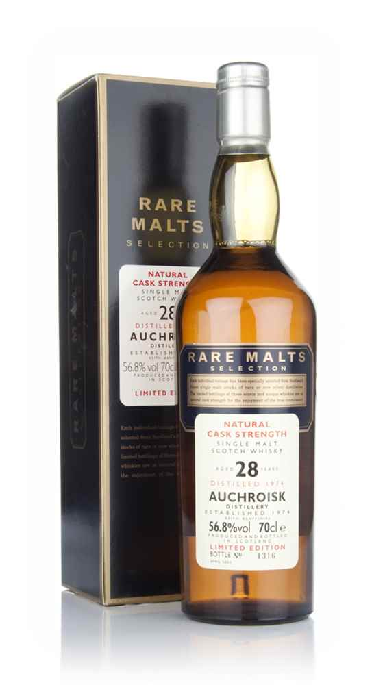 Auchroisk 28 Year Old 1974 - Rare Malts