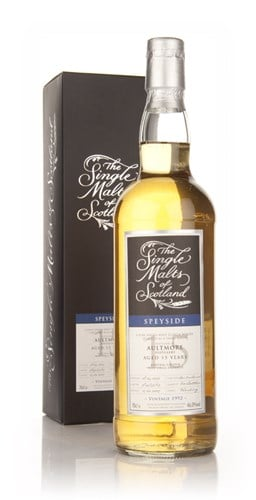 Aultmore 15 Year Old 1992 - Single Malts of Scotland (Speciality Drinks)
