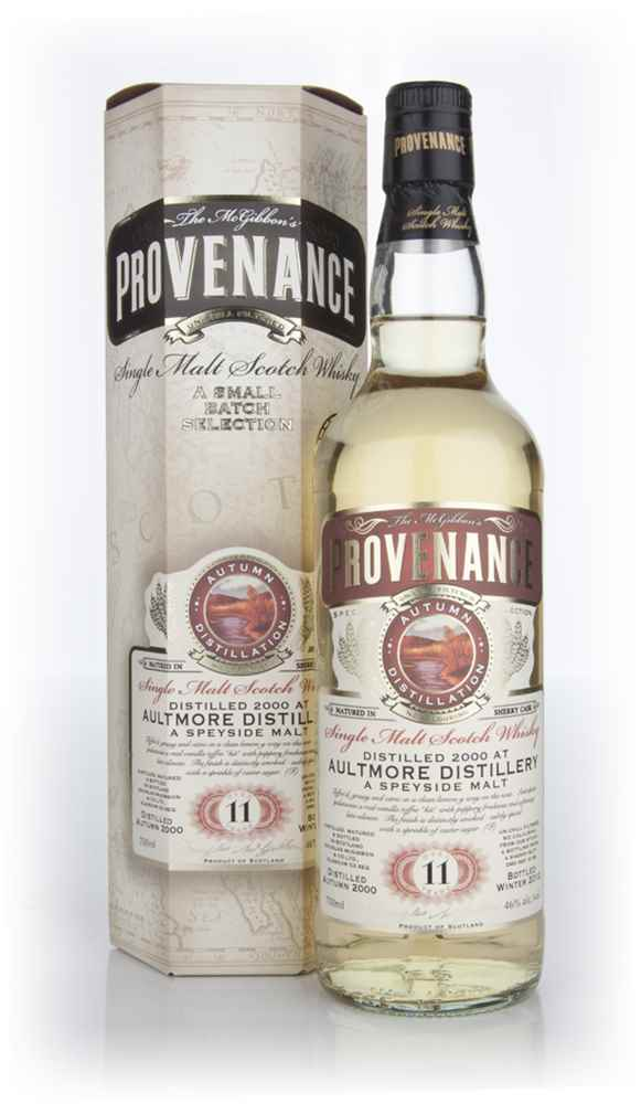 Aultmore 11 Year Old 2000 (cask 8188)  - Provenance (Douglas Laing)