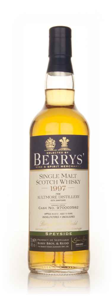 Aultmore 15 Year Old 1997 (cask 970003582) (Berry Bros. & Rudd)