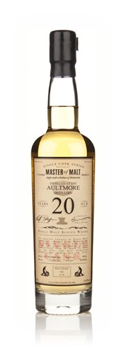 Aultmore 20 Year Old 1991 - Single Cask (Master of Malt)