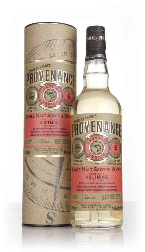 Aultmore 6 Year Old 2011 (cask 12072) - Provenance (Douglas Laing)