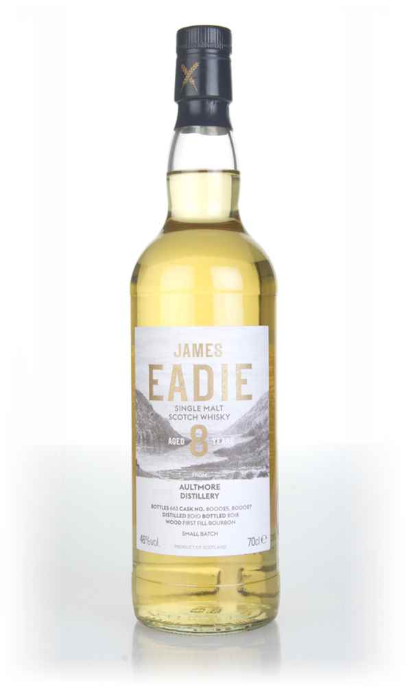 Aultmore 8 Year Old 2010 (casks 800025 & 800027) - Small Batch (James Eadie)