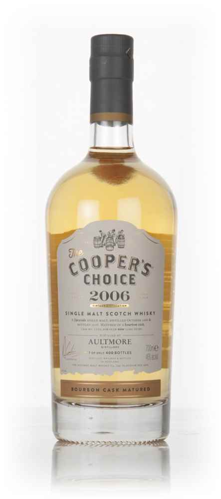 Aultmore 9 Year Old 2006 (cask 7120) - The Cooper's Choice (The Vintage Malt Whisky Co.)