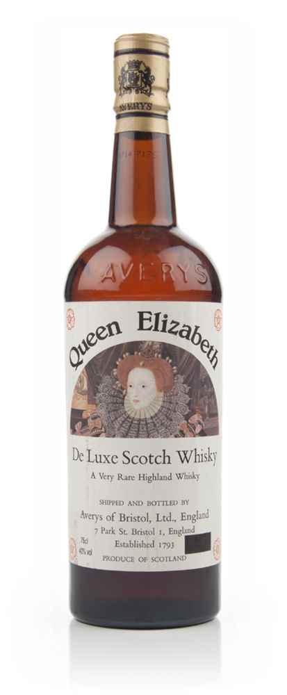 Queen Elizabeth Deluxe Highland Whisky - 1960s