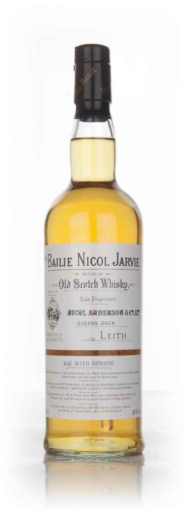 Bailie Nicol Jarvie Blended Whisky