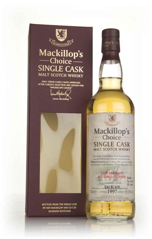 Balblair 20 Year Old 1997 (cask 124) - Mackillop's Choice