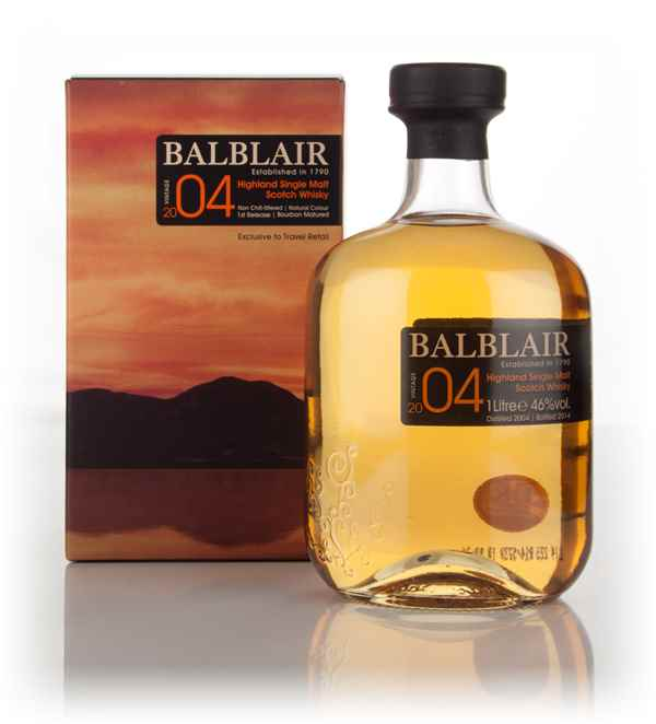 Balblair 2004 Bourbon Matured - 1st Release