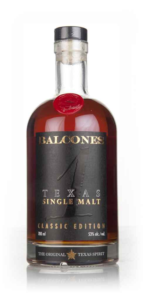 Balcones Texas Single Malt  53%