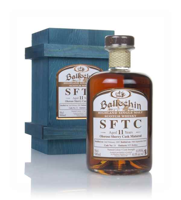 Ballechin 11 Year Old 2007 (cask 18) - Straight From The Cask