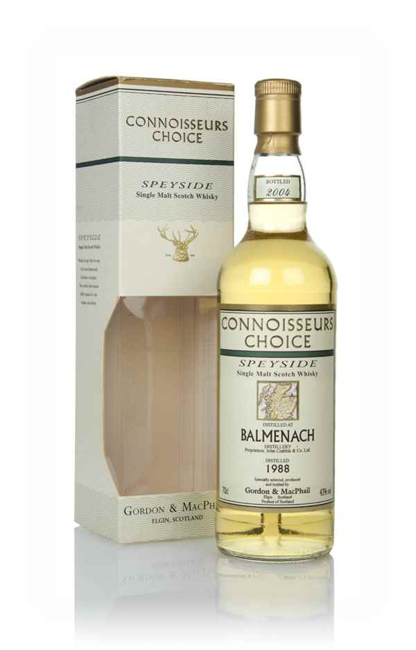 Balmenach 1988 (bottled 2004) - Connoisseurs Choice (Gordon & MacPhail)