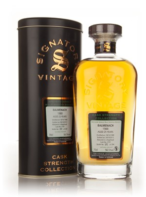 Balmenach 25 Year Old 1988 (cask 2797) - Cask Strength Collection (Signatory)
