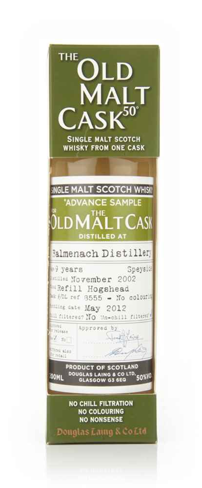 Balmenach 9 Year Old 2002 Advance Sample - Old Malt Cask (Douglas Laing) 20cl