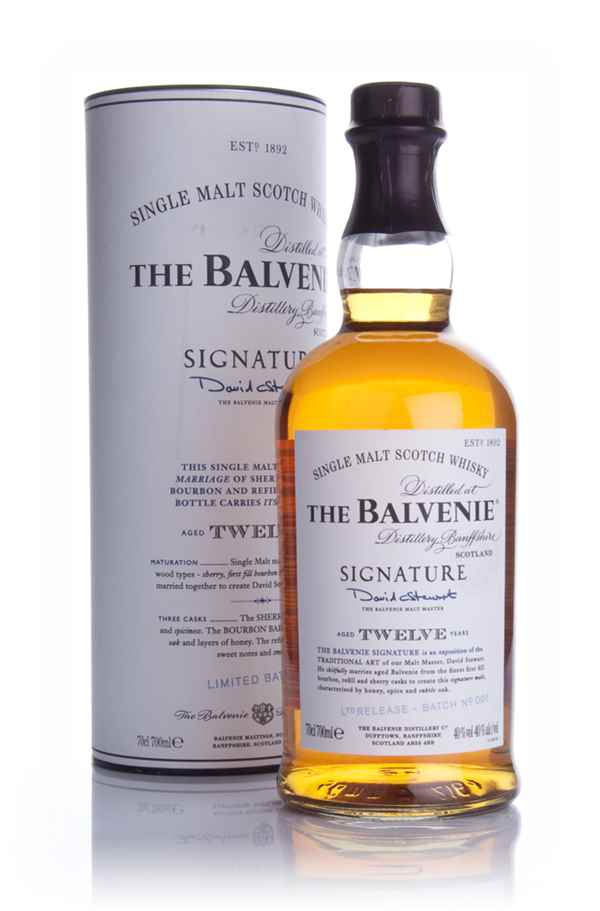 Balvenie Signature 12 Year Old Batch 001