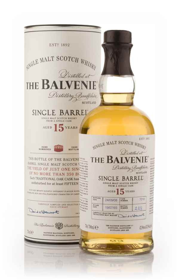 Balvenie 25 yo single barrel größter