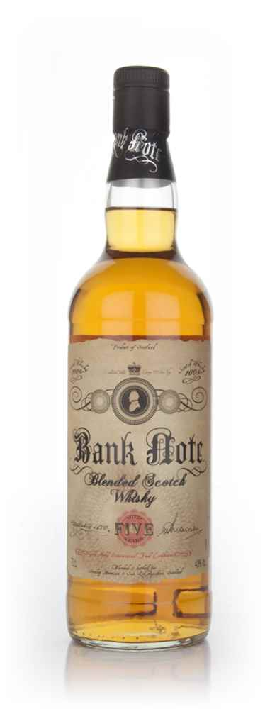 Bank Note 5 Year Old Blended Whisky