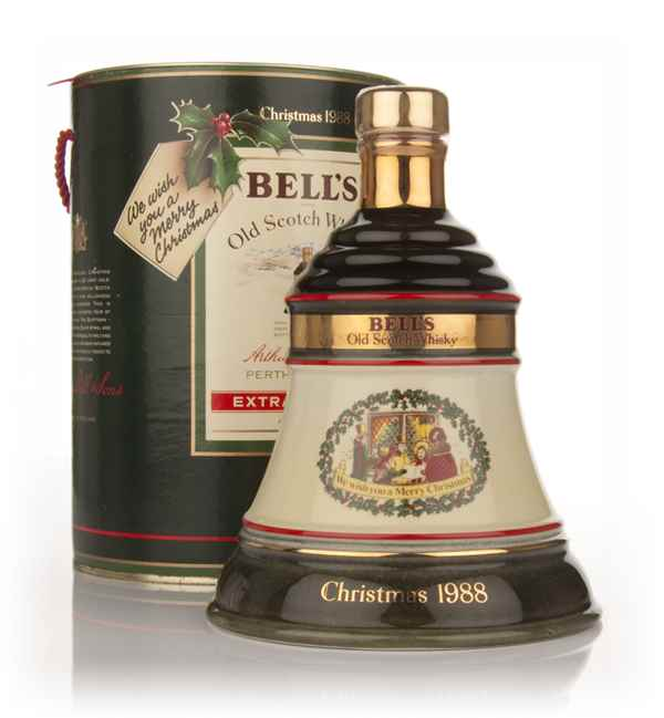 Bell's 1988 Christmas Decanter