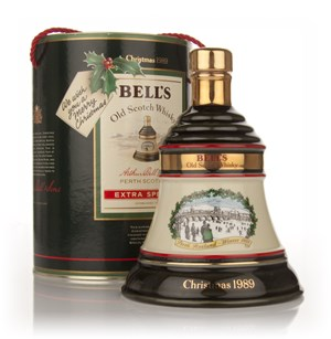 Bell's 1989 Christmas Decanter