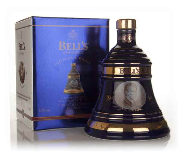Bells 8 Year Old 2004 Christmas Decanter