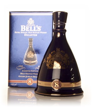 Bell's Queen Elizabeth II Golden Jubilee Decanter