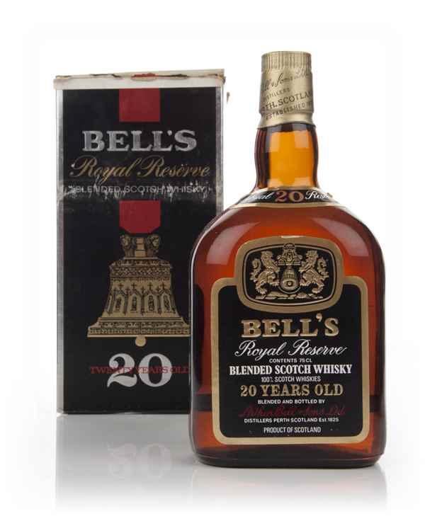 Bell's Royal Reserve 20 Year Old Blended Scotch Whisky 43% - 1980s
