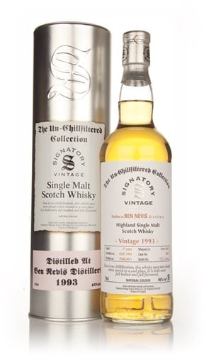 Ben Nevis 17 Year Old 1993 - Un-Chillfiltered (Signatory)
