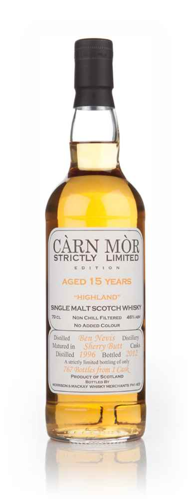 Ben Nevis 15 Year Old 1996 - Strictly Limited (Càrn Mòr)